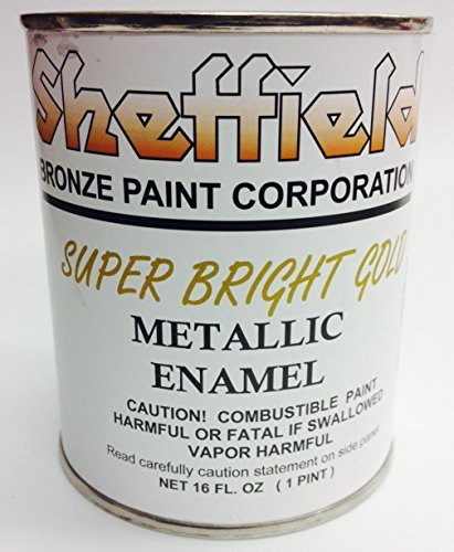 Sheffield 4740 Pt Super Brite Gold Enamel Exterior Metallic by Sheffield Bronze by Sheffield Bronze