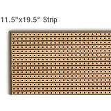 "Prototype Universal Stripboard 11.5""x19.5"" (300x500mm) 23000hole Epoxy Fiber"