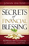 Secrets of Financial Blessing, Johan du Toit, 1616381639