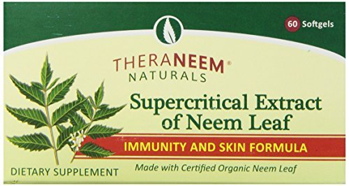 Theraneem Supercritical Neem Gel Capsules, 60 Count (Pack of 3)