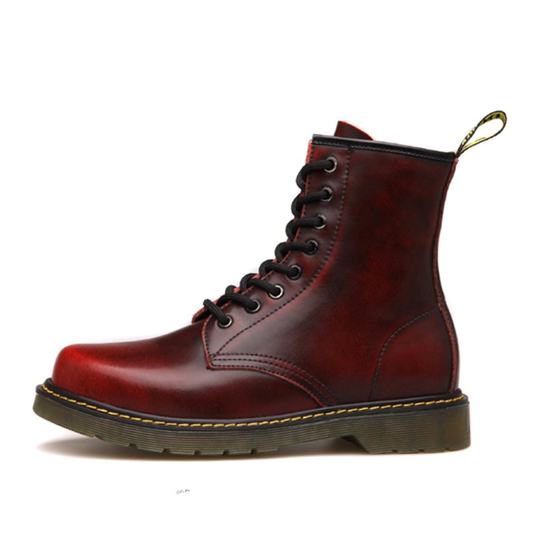 Herren freizeitschuhe kleid bergsteigen herbst outdoor oxford schuhe stiefel rutschen schwarzbraun B Fußlänge=38.5EU