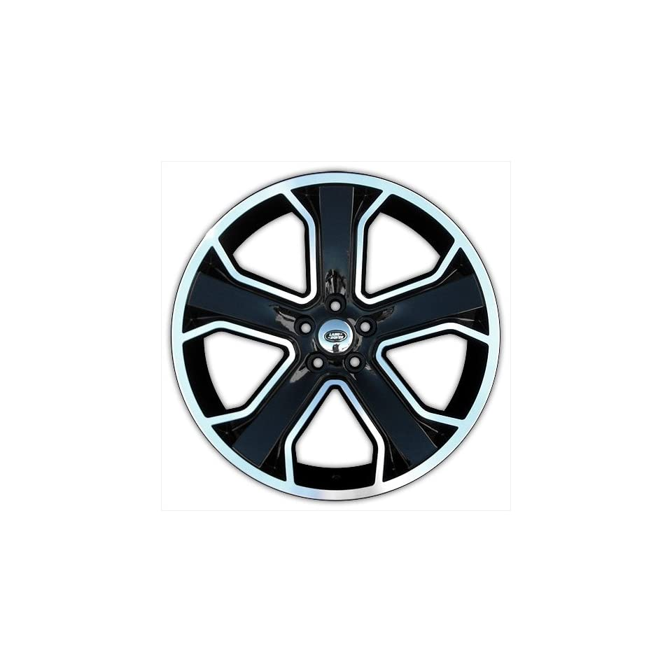 Marcellino Windsor 22 Inch Wheels   Land Rover Fitment   Gloss Black with Machined Face Finish   22x10.0   Set of 4 Wheels