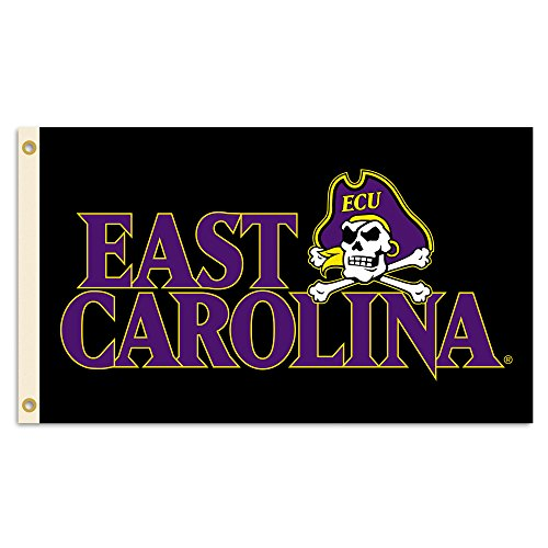 NCAA East Carolina Pirates 3-by-5 Foot Flag with Grommets