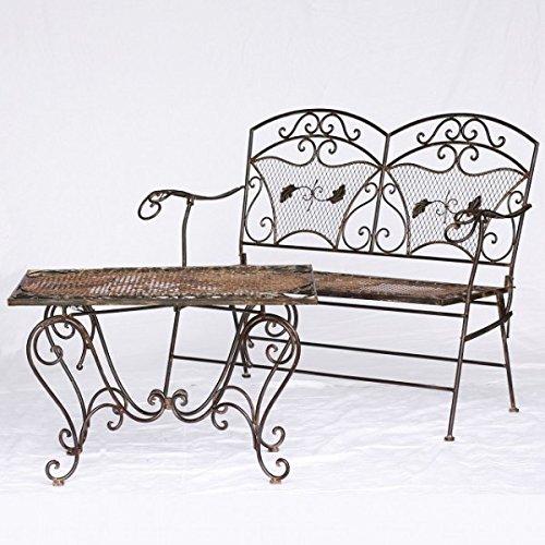 outdoor m bel garten sitzbank couchtisch gartenm bel set 2. Black Bedroom Furniture Sets. Home Design Ideas