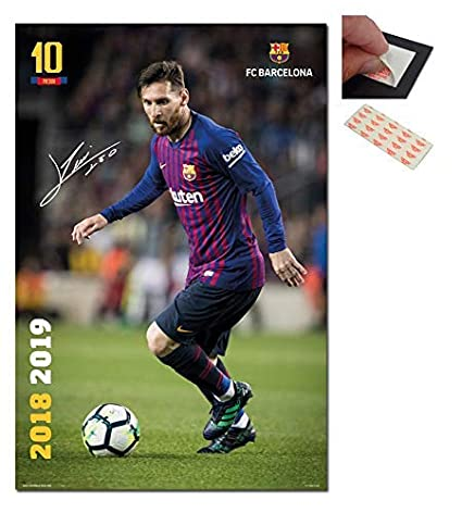 66c89f75872 Image Unavailable. Image not available for. Color: FC Barcelona Lionel  Messi 2018-2019 ...