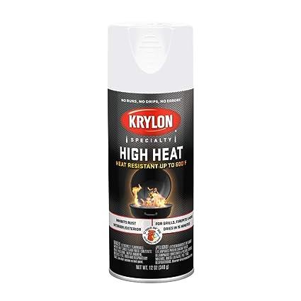 Krylon K01505000 High Heat Spray Paint 12 Oz White