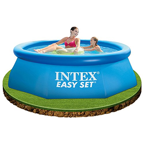 Intex piscina hinchable easy set 244 x 76 cm for Piscina intex easy set