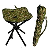 JSHANMEI Folding Portable Chair Camouflage Stools Leisure/Outdoor/Picnic/Fishing/Camping/Hiking Adjustable Chair