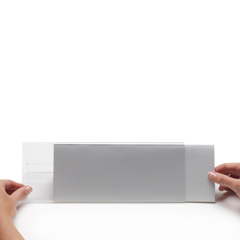 Deflect-o 68801 Soporte horizontal para placas de identificaci/ón