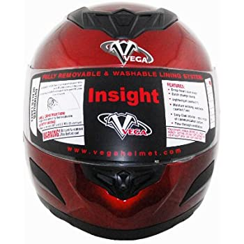 Vega Summit 3.1 2-Tone Modular Full Face Helmet Replacement Liner Cream, XX-Large