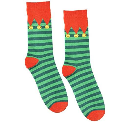 Striped Elf Socks -