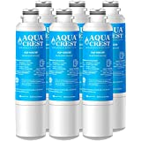 AquaCrest DA29-00020B Refrigerator Water Filter Replacement for Samsung DA29-00020B, DA29-00020A, HAF-CIN/EXP, 46-9101 Water Filter (Pack of 6)