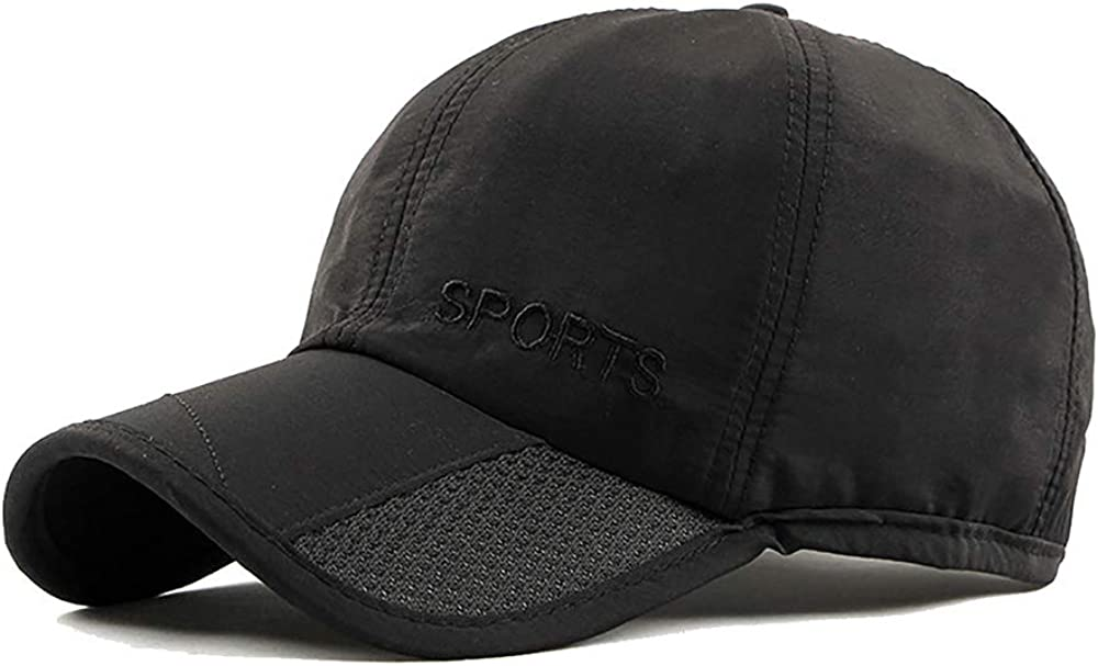 Caps Unisex Mesh Baseball Cap Breathable Plain Embroidery Sun Hat Adjustable Sport Outdoor Peaked Cap Baseball Caps