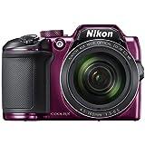 Nikon COOLPIX B500 Digital Camera (Purple) International Model No Warranty