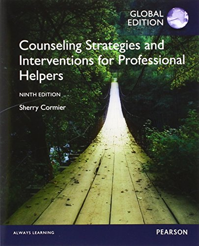 Counseling Strategies and Interventions for Professional Helpers with NewMyCounselingLab, Global Edition (Counseling Strategies And Interventions For Professional Helpers)