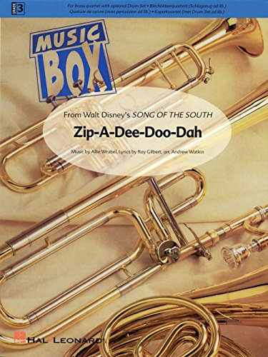 Hal Leonard Zip-A-Dee-Doo-Dah De Haske Ensemble Series Arranged by Andrew Watkin (Zip A Dee Doo Dah Sheet Music)