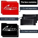 Quiver Card Cases for Carrying Trading Card Games