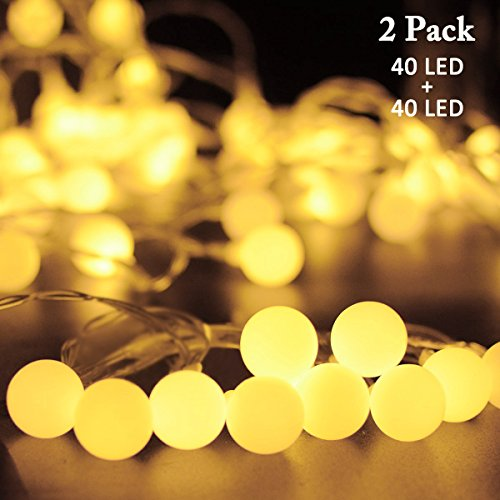 Outdoor Lighting Globe String Lights - 5