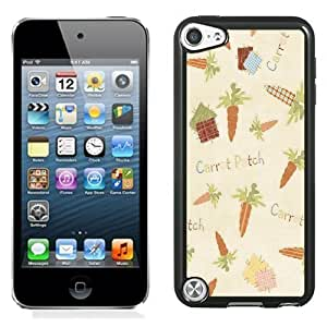 New Personalized Custom Designed For iPod Touch 5th Phone Case For Carrot Patch Patterns Phone Case Cover