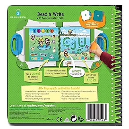 LeapFrog 21512 LeapStart Preschool First Day of School and Critical Thinking Activity Book