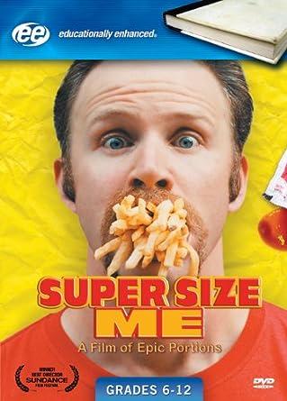 Amazon.com: Super Size Me (Widescreen Edition): Morgan Spurlock ...