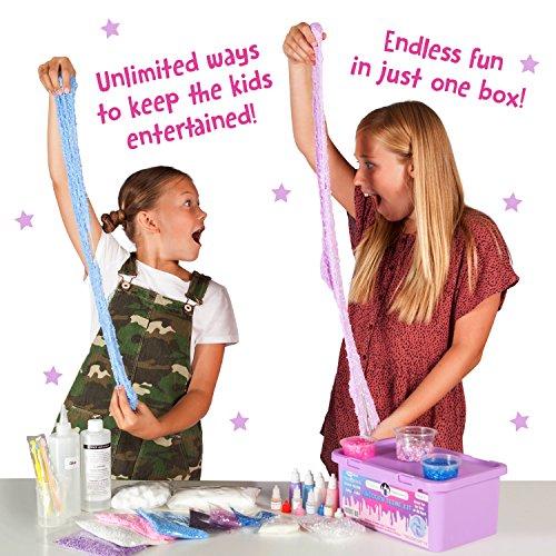 b5396b507042 Original Stationery Unicorn Slime Kit Supplies Stuff for Girls Making Slime  [Everything in One Box] Kids Can Make Unicorn, Glitter, Fluffy Cloud, ...