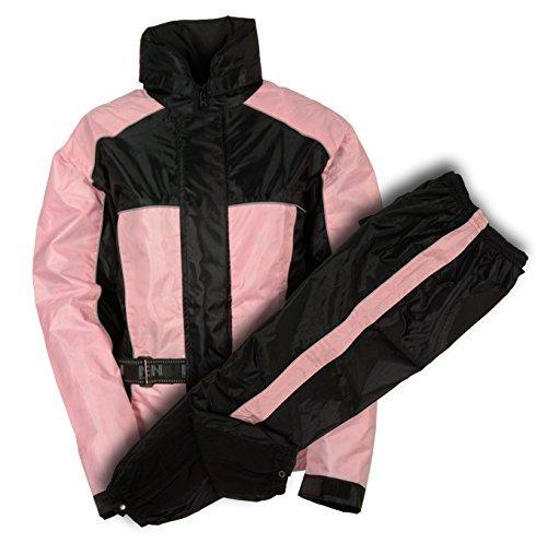 NexGen Women's Rain Suit (Black/Pink, XXX-Large) by Nexgen (Image #2)