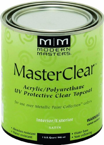 Modern Masters ME664-32 Masterclear Satin, 32-Ounce by Modern Masters