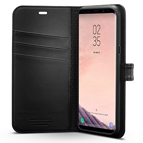 super popular c17e4 3be40 Spigen Wallet S Galaxy S8 Plus Case with Foldable Cover and - Import It All