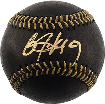 Bo Jackson Kansas City Royals Autographed Black and Gold Baseball - Fanatics Authentic Certified - Autographed Baseballs from Fanatics Authentic