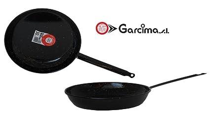 Garcima - Sarten Esm.Llana C/M La Ideal 36 Cm