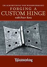 Blacksmithing for Woodworkers - Forging a Hinge