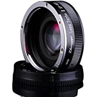Zhongyi AI-FX Lens Turbo Adapter II Mark 2 Nikon AI Mount for Fuji X FX Camera (Black)