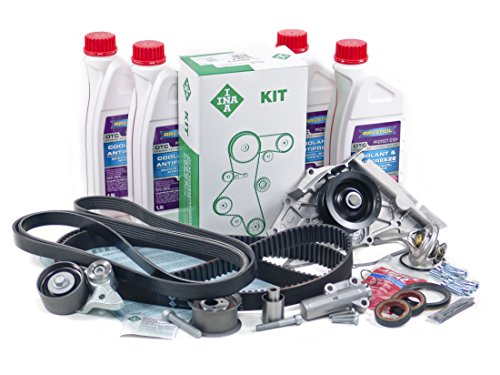 BLAU GH21118-1-F Audi A8 Timing Belt Kit - 2004-06 w/ 8 Cylinder 4.2L Engine - Gen II - (4.2l 6 Cylinder Engine)