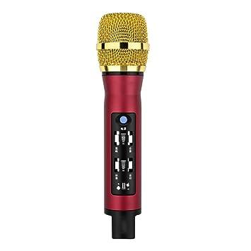 FFSH Micrófono de grabación Bluetooth inalámbrico móvil para ...