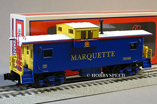 LIONEL MARQUETTE EXTENDED VISION ILLUMINATED CABOOSE 6-81028 o gauge 6-8166