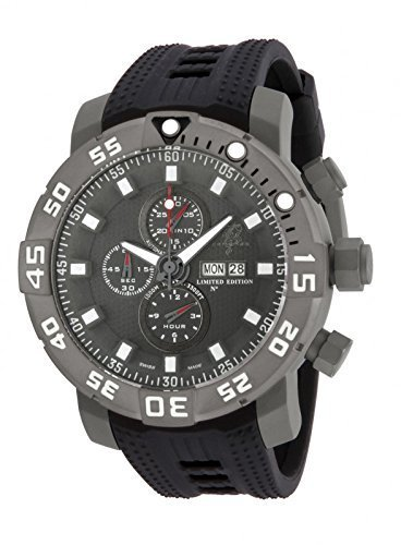 Invicta Mens SEA BASE Swiss Made Valjoux 7750 Titanium Case Watch 14221