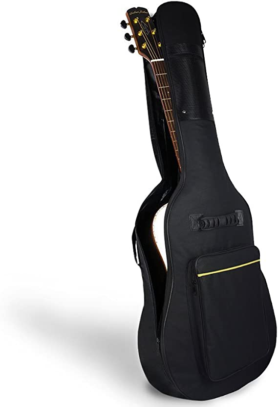 Mopalwin Funda de Guitarra, Estuche de Transporte de Guitarra para 41 Pulgadas Resistente al Agua Paño Oxford guitarra electrica - Negro: Amazon.es: Instrumentos musicales