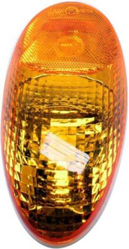 Crash-Parts-Plus-Driver-Or-Passenger-Side-Halogen-Amber-Lens-Turn-Signal-for-97-10-Kenworth-T2000