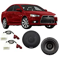 Fits Mitsubishi Lancer 2008-2015 Front Door Factory Replacement Harmony HA-R65 Speakers