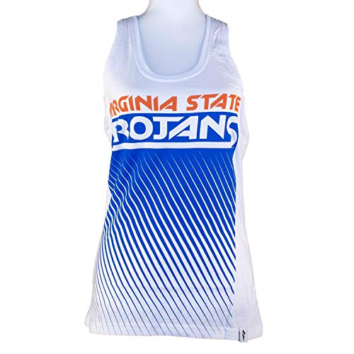 Flying Colors Womens Junior Cut Virginia State University Racer Back Fade Out -