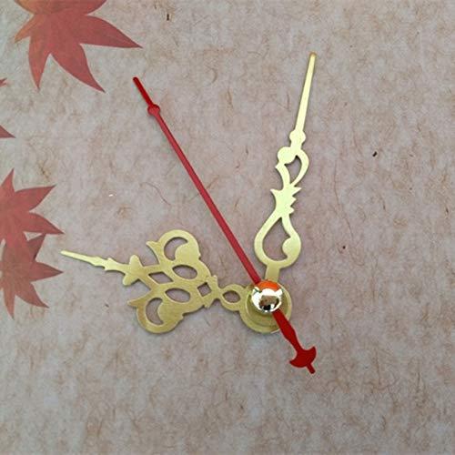 Maslin 50PCS Popular Short Metal Clock Hands for DIY CD Quartz Clock from China