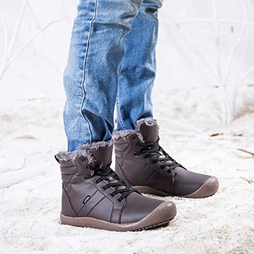 Candidatura per la borsa di studio Risparmio. Scarpe Caloroso Boots  Invernali Uomo Stivali Pelliccia Antiscivolo Stivaletti ... 028ea0ecab4