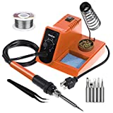Vastar Soldering Iron - Soldering Iron Station, Anti-Static Soldering Iron Station Kit with On-Off Switch Temperature...