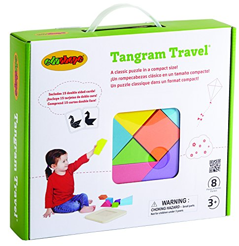 Edushape Tangram Travel 8 Piece 845008