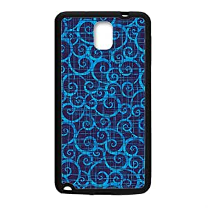 Blue simple unique pattern Phone Case for Samsung Galaxy Note3