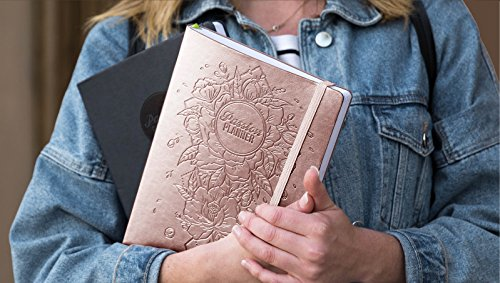 Academic Passion Planner Pro Aug 2018 - Jul 2019 - Goal Oriented Daily Agenda, Appointment Calendar, Reflection Journal - (B5) Monday Start (Radiant Rose Gold)