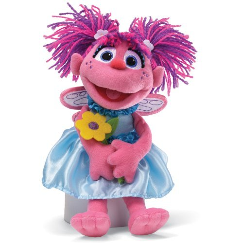 Gund Sesame Street Abby with Flowers Stuffed Animal by GUND (Sesame Street Stuffed Animals)