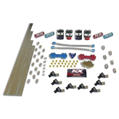 Nitrous Express 13388 8-Cylinder NXL Nozzle Intake Plumbing Kit