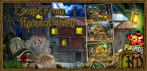 Escape from Haunted Town - Hidden Object Game (Mac) [Download] by Big Leap Studios PVT. LTD. (Image #2)